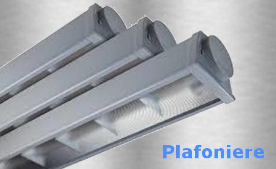 Plafoniere Neon 2x36 : Plafoniera eco led 35w